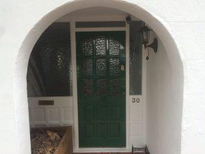 Redecoration of front door