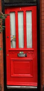 Door after painting
